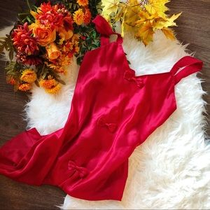 🍂 FALL ARRIVAL 🍂 VINTAGE BOW SLIP DRESS